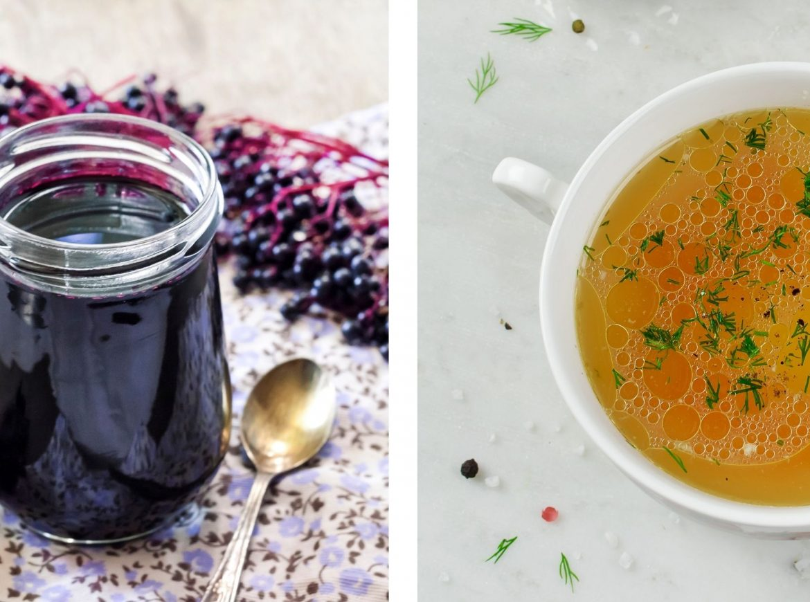Elderberry Syrup Vs. Bone Broth: Which is the Best Food to Boost Your Immunity?