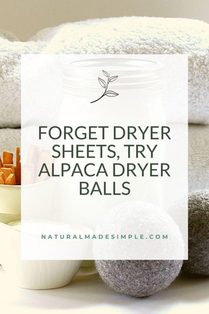 alpaca dryer balls for laundry