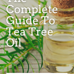 uses for tea tree oil pin