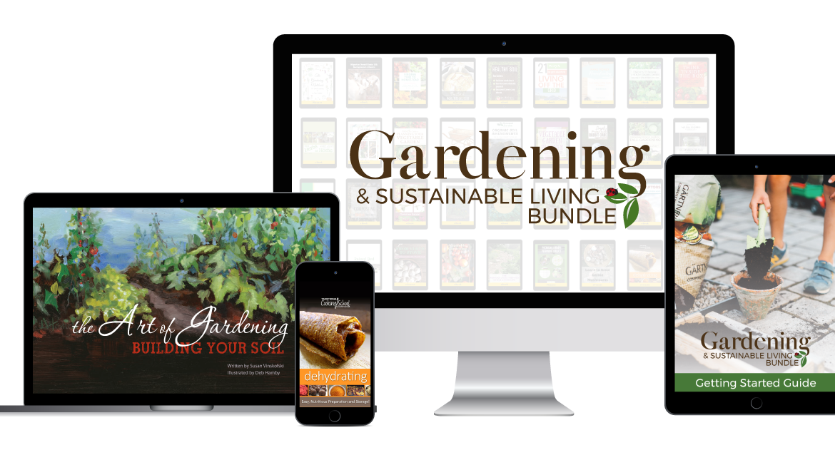 The Gardening & Sustainable Living Bundle Review + Product List