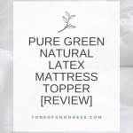 mattress topper title