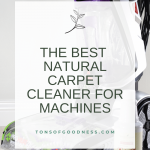 natural carpet cleaning solution