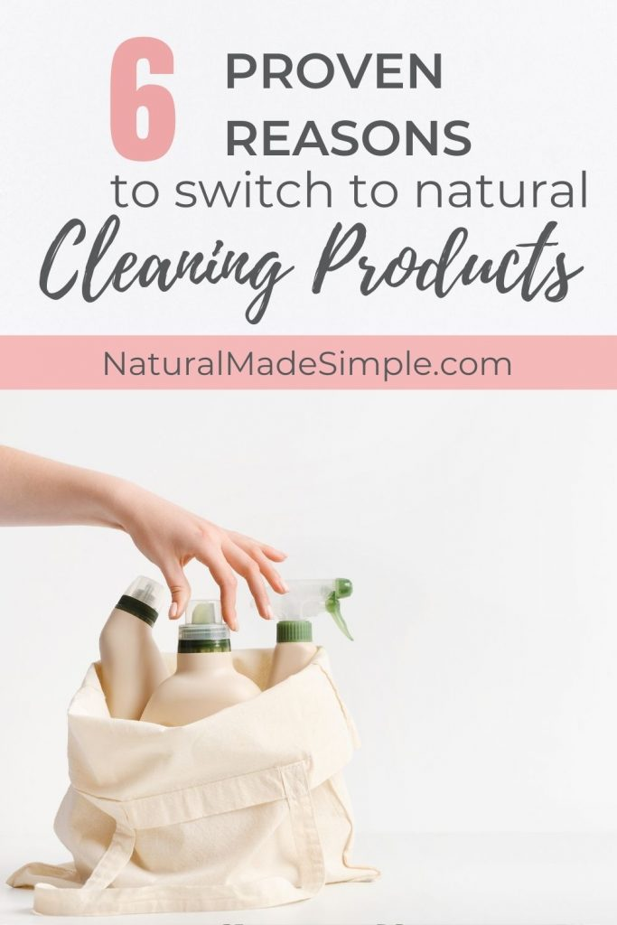 why you should switch to natural cleaning products