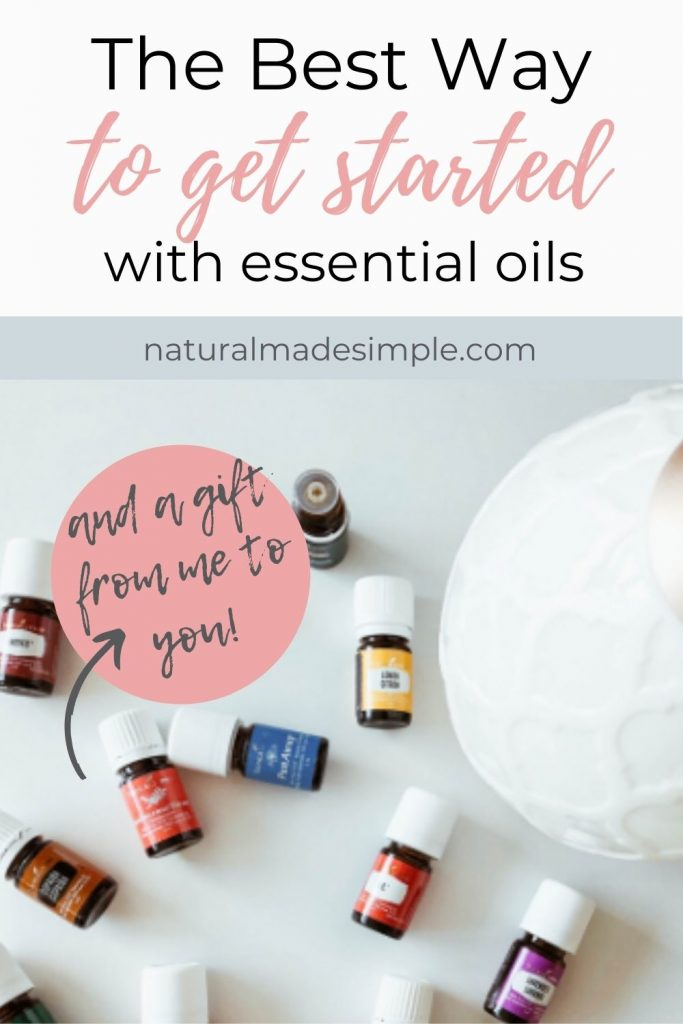 the best way to get started with essential oils