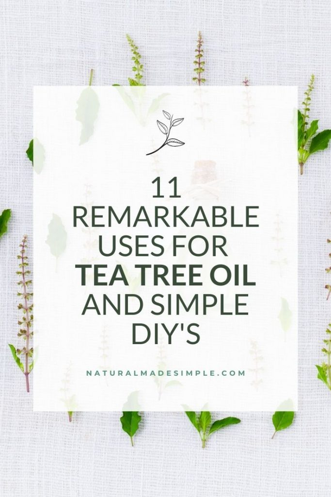 uses for tea tree oil and diy's