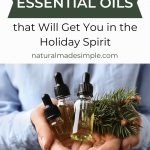 essential oil blends for the holidays