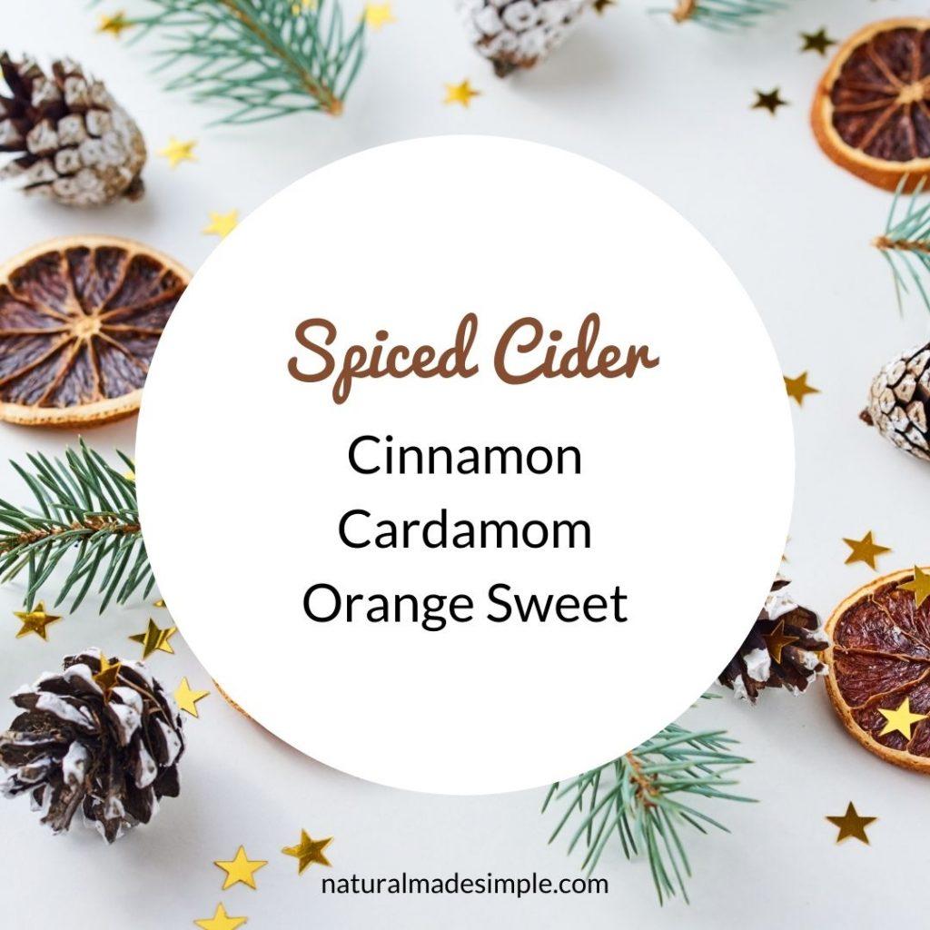 spiced cider essential oil recipe