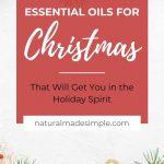 essential oils for christmas