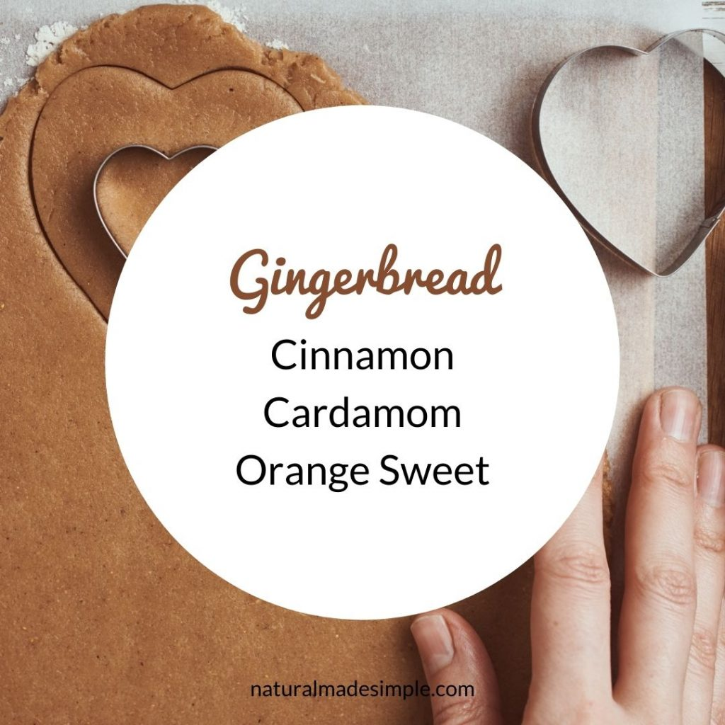 gingerbread essential oil blend