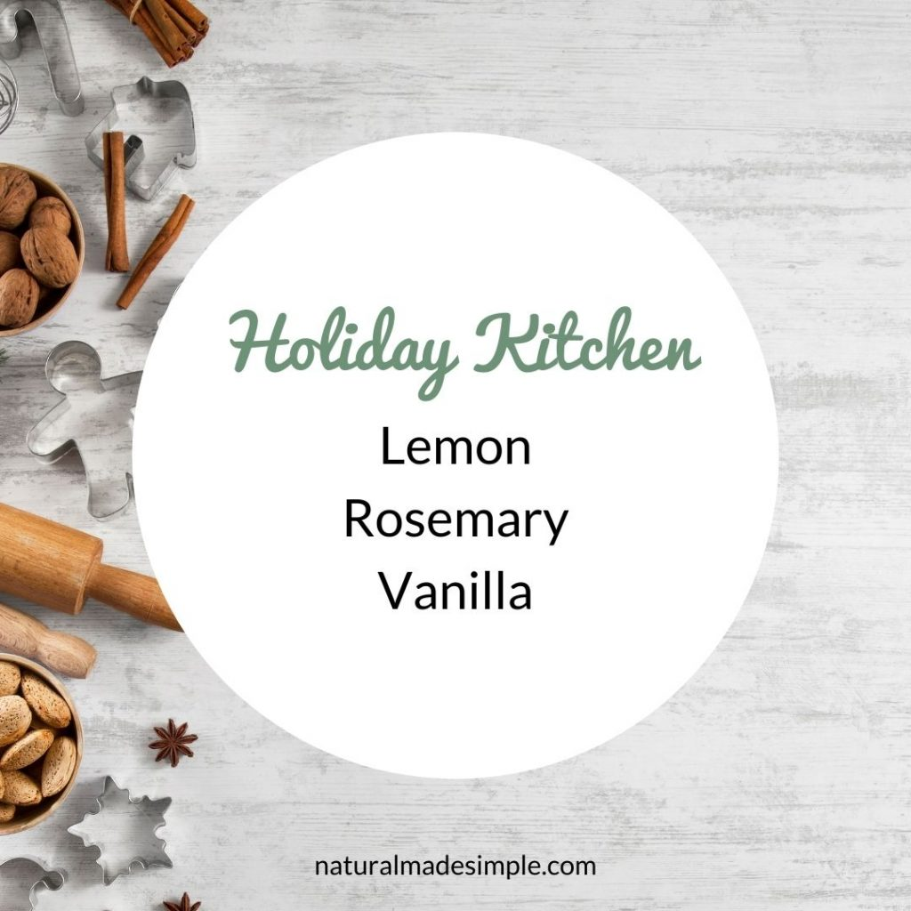 holiday kitchen essential oil blend