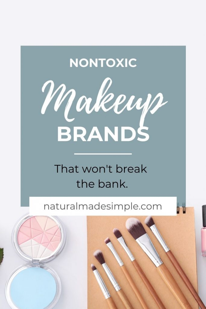 nontoxic makeup brands that won't break the bank