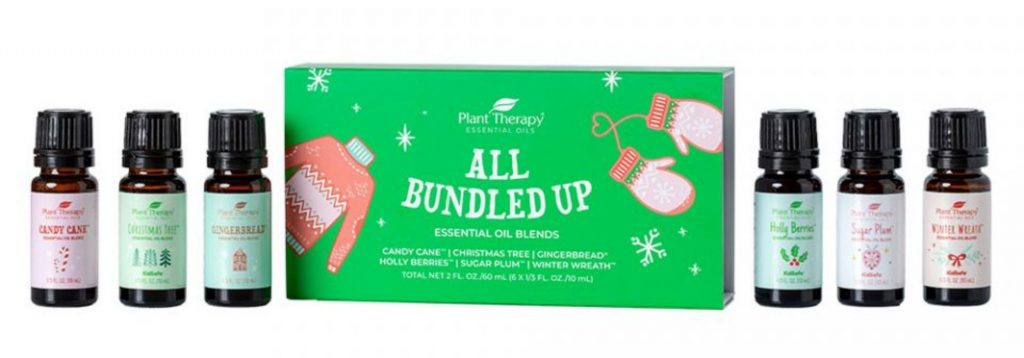 plant therapy set of six essential oil blends for Christmas r